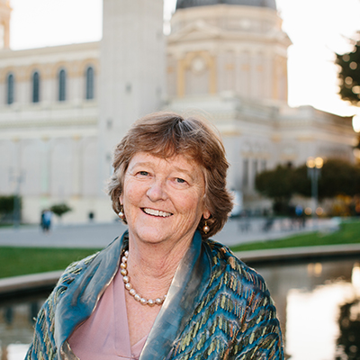 Decorative hero image for Martha Ryan: Health activist who tackled an unmet need to provide homeless mothers prenatal care in San Francisco page.