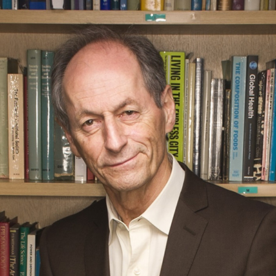Decorative hero image for Sir Michael Marmot: World-renowned researcher who demonstrated the relationship of social determinants to health and mortality page.