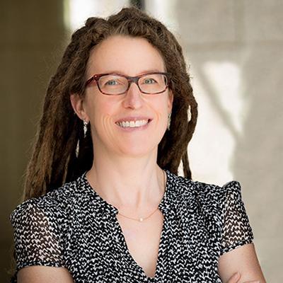 Decorative hero image for Katherine S. Pollard: Developer of cutting-edge technology to optimize precision medical treatment based on genetics page.